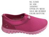 De Schoenen van de Vrije tijd van de Grootte van de Vrouwen van de Kleur van Hotpink