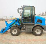 A las 4 ruedas hidráulicas 0.8ton minicargadora ZL08