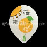 Het gecontroleerde Deksel van de Aluminiumfolie van de Leverancier Zachte voor de Koppen van de Yoghurt pp