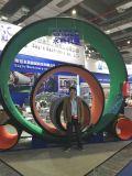 De HDPE perfilada máquina de produção de tubos de enrolamento em espiral