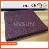 Estera de goma del suelo de la alta de la elasticidad de las escaleras de las esteras no del resbalón estera de goma de la yoga