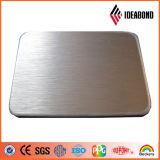 Final aplicado con brocha de oro con el panel compuesto de aluminio del precio competitivo (ACP)