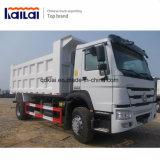 판매를 위한 중국 트럭 Sinotruk HOWO 4*2 덤프 트럭 팁 주는 사람