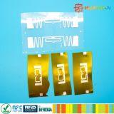 Plástico ABS gravável FM08 inteligente RFID Keyfob (amostras grátis)