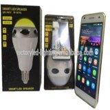 RGB Witi-altavoz E27 / E26 / B22 Música Bluetooth Bombilla LED