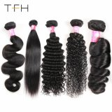100% do pacote de cabelo humano Virgem de boa qualidade do cabelo da Malásia