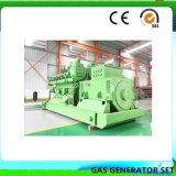 Ce gaz électricité approuvé de 400 Kw de puissance du générateur de la biomasse végétale gazogène