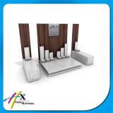 Стойка индикации ювелирных изделий роскошной конструкции акриловая с логосом тавра