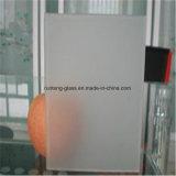 5mm - o ácido de 10mm gravou o vidro gravado ácido do espaço livre do vidro modelado