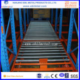 Racking metálico da pálete da gravidade do aço Q235 do tipo grande chinês