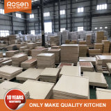Pack rta plat en bois massif de la Chine usine directement les armoires de cuisine