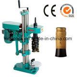 Máquina tampando do tampão da máquina do capsulador do frasco para a fábrica do vinho