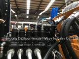 Fabricante de excavadoras chinas 0.6m³ Hengte proporcionan Cheap Excavadora de ruedas de 12 Ton.