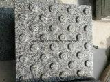 O granito tijolos de pavimentação tátil Pavimentadoras cega para caminhadas tátil Road