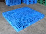Reforço de aço 1600x1400 mm paletes de plástico para o depósito