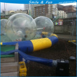 Esfera de água grande almofada insuflável com material de 0,8mm TPU água insufláveis pouca bola