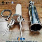 Higiénico F-gsl de alta precisión de acero inoxidable Filtro de membrana microporosa