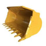 La cuchara hidráulico de la excavadora Kobelco