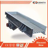 A Zenith vibrando preço do alojamento do alimentador na indústria de mineração