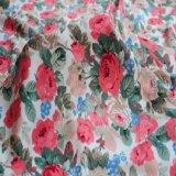 Tissu en nylon de Spandex estampé par type gentil de configuration beau