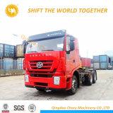 4X2 380CV Hongyan Genlyon Rhd Tractor Iveco Carretilla con motor C9