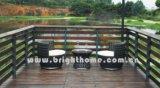 Aus Weiden geflochtene im Freienrattan-Möbel-Freizeit gesetztes Bg-782A