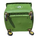 Container van het Huisvuil van de goede Kwaliteit 360L 660L 1100litre de Plastic