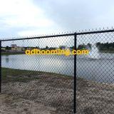 Sicherheits-Kettenlink-Zaun-Panel und Pfosten