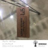 Hongdao Eco 목제 USB 섬광 드라이브 호두 및 대나무 USB_D