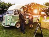 Citroen Ван 2018 Производство Всплывающее окно ТИП прицепа продовольственная корзина для продажи продуктов питания/конфеты с колеса/Vintage авиакомпании продовольственная корзина