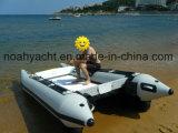Дешевые PVC или Hypalon Надувные спасательные катера с подвесным мотором