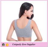 Tessuto di maglia su ordinazione delle donne per il reggiseno sexy degli abiti sportivi