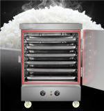 Hot Sale Electric Commercial Dmfmin Optima cuiseur vapeur en acier inoxydable. L'ordre : 10 jeux