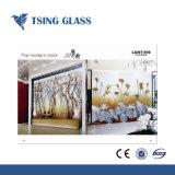 Grosses GrößeSilk-Screendrucken-Glas für Gebäude-Dekoration