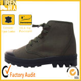 China Cheap Price High Quality Training Shoes Calçado de lona militar