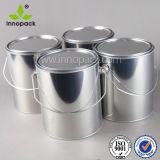 Покрытие металла жестяной коробки металла малое может посеребрить вокруг пустых алюминиевых чонсервных банк