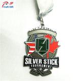 スポーツのためのカスタマイズされた旧式な亜鉛合金の金属メダル