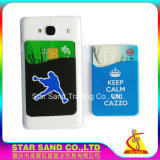 보편적인 셀룰라 전화 정제 홀더, 주문을 받아서 만들어진 실리콘 이동 전화 카드 지갑