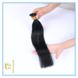 Das gezeichnete Farben-Strahlen-Schwarz-Farben-Doppelte der Qualitäts-#1 spitze ich Extensions-Haar mit vollständigem Verkaufspreis Ex-011