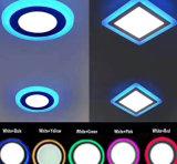 Doppio colore rotondo o quadrato messo (12+6) comitato chiaro di W LED