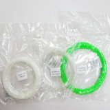 Un precio más barato colorido 3D de filamentos PLA filamento flexible