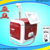 Mini máquina da beleza da remoção do cabelo do laser do diodo