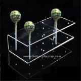 Suporte plástico acrílico feito sob encomenda do Lollipop