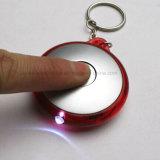 Plastik LED Light herauf Keychain mit Logo Printing (4066)