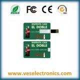 Don par carte de crédit USB 1 Go de mémoire USB Lecteur Flash USB