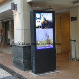 AC를 가진 선수를 광고하는 옥외 간이 건축물 55inch IP65 LCD