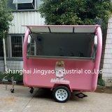 Торговые автоматы кофе-барбекю на улице Ван/мороженое закусочных быстрого питания общественного питания погрузчика