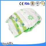 Backsheet布のようにおよびマジックテープが付いている使い捨て可能な赤ん坊のおむつ