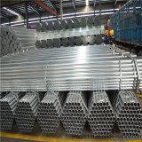 Fabrik-Großverkauf-Zeitplan 40 Vor-Galvanisierte Stahlrohr-runde Form