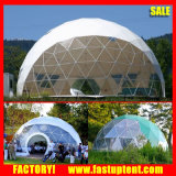 Fashion Geodesic Steel Tubes Vent PVC Dome Tent for Advedrtising